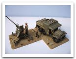 WWII British 8th Army Bofors AA Gun  and Morris Tractor Airfix 001.jpg